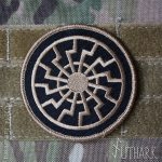 black sun patch multicam