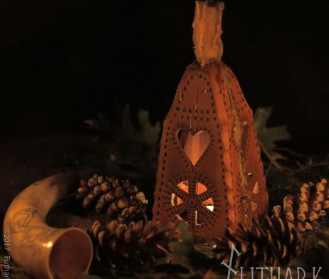 Irminfolk Yule Leuchter Julleuchter