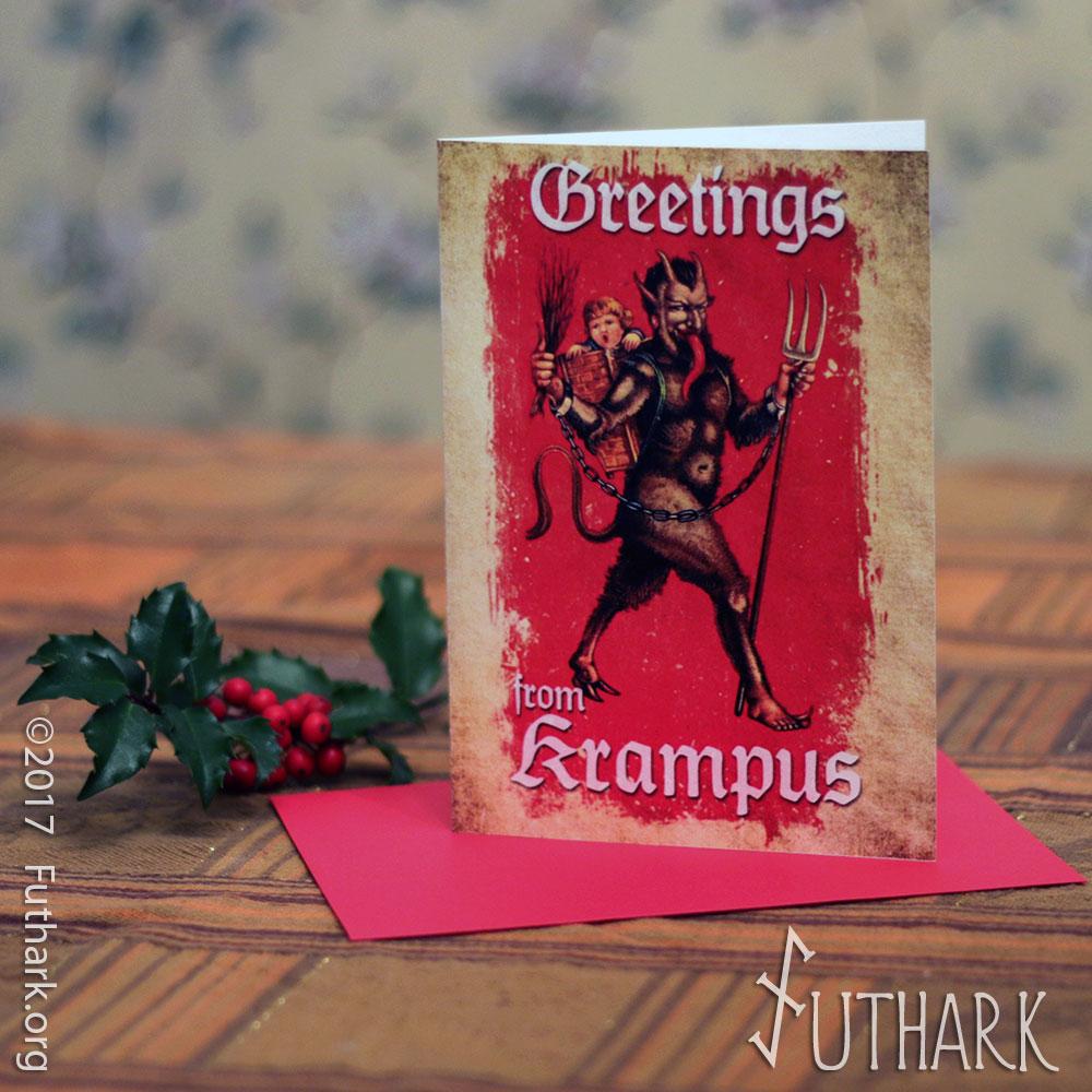 Krampus Greeting card | Futhark